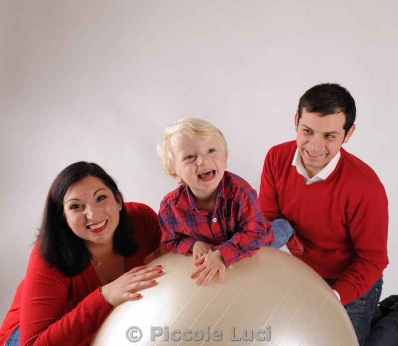 scatti natalizi bambini