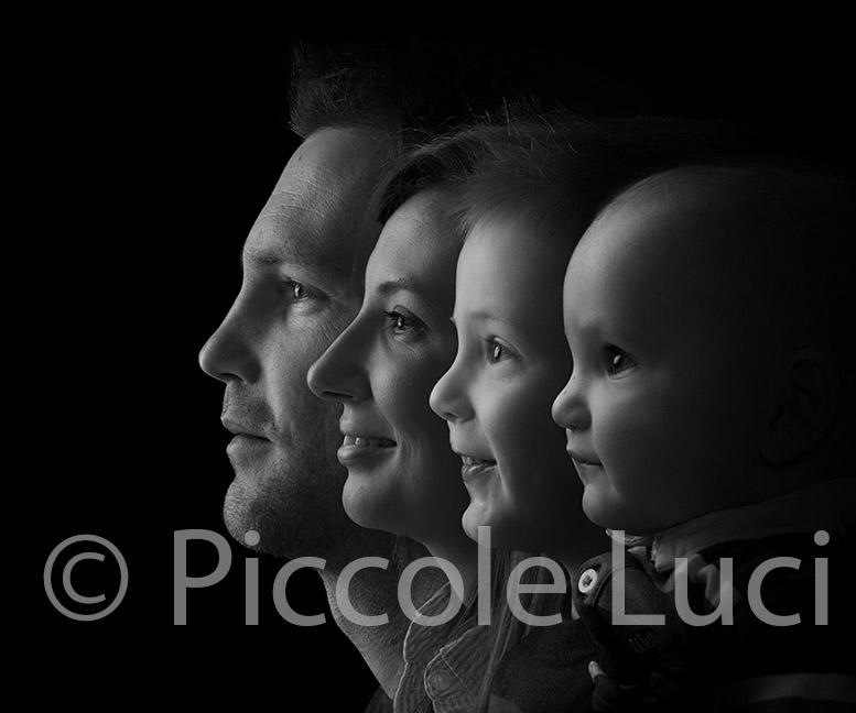 La famiglia fotografata Treviso
